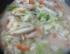 皿うどん 細麺 調理④