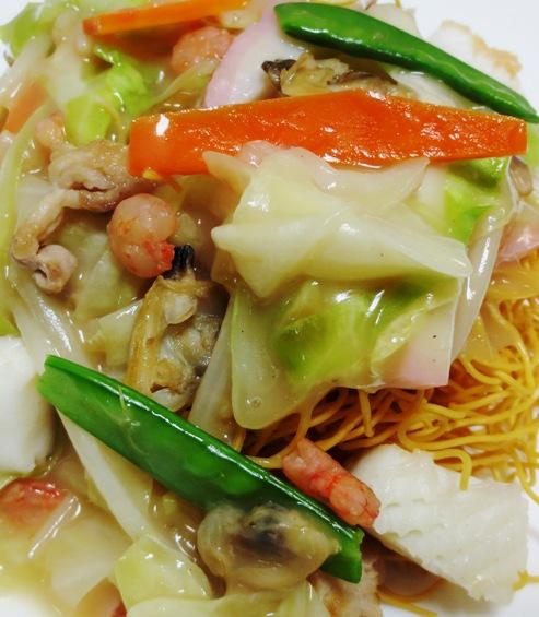 皿うどん 細麺 拡大