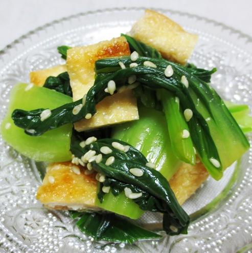 小松菜とお揚げのナムルB