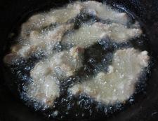 豚肉の唐揚げ 生姜あんかけ調理②
