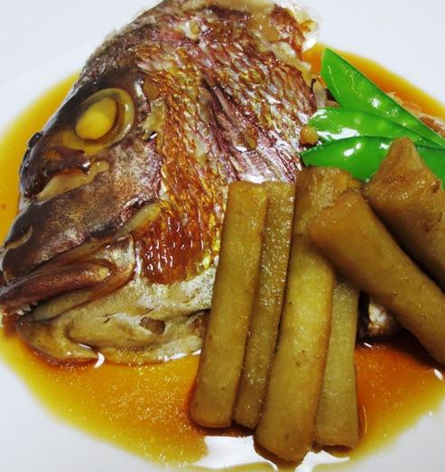 鯛のかぶと煮 B