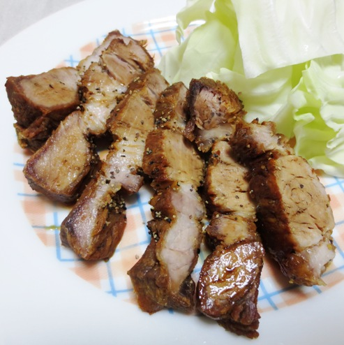 揚げ豚 黒胡椒風味 拡大