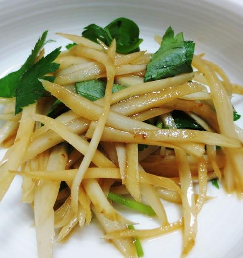 ごぼうと三つ葉のサラダ B