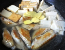 手羽中の中華風煮込み 調理③