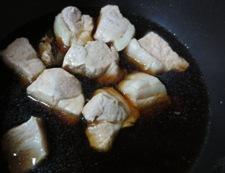 さっぱり豚もも肉の角煮 調理①