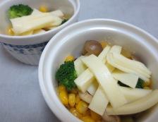 コーンチーズ焼き 調理②