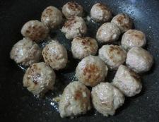 ミートボールと茄子のトマト煮 調理①