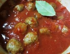 ミートボールと茄子のトマト煮 調理③