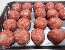 ミートボールと茄子のトマト煮 【下準備】②