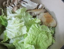 手羽先と白菜のスープ煮 調理④