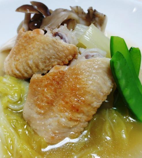 手羽先と白菜のスープ煮B