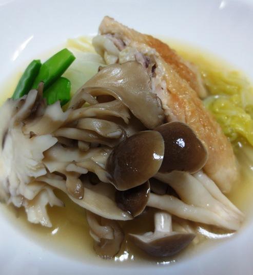 手羽先と白菜のスープ煮 拡大