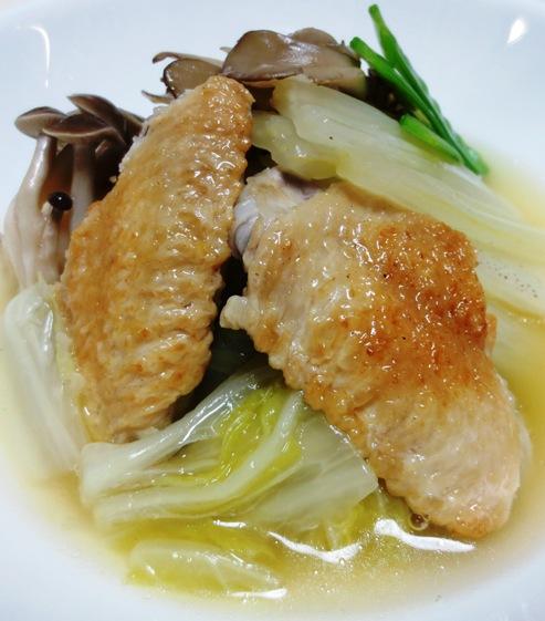 手羽先と白菜のスープ煮 大