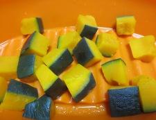 かぼちゃサラダ 調理①