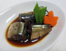 秋刀魚♪実山椒煮 調理④