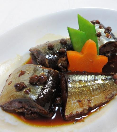 秋刀魚♪実山椒煮B