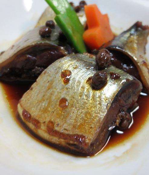 秋刀魚♪実山椒煮 拡大