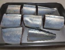 秋刀魚♪実山椒煮 材料