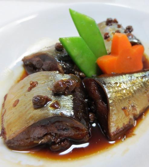 秋刀魚♪実山椒煮 大