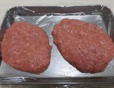 クリームシチューソースのハンバーグ 調理④