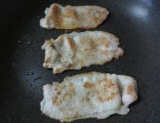 なすとん(茄子豚)生姜焼き 調理②