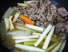 牛肉と野菜の中華スープ煮 調理③