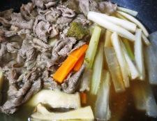牛肉と野菜の中華スープ煮 調理④