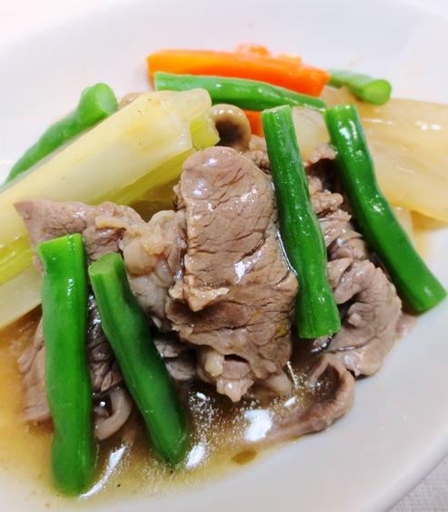 牛肉と野菜の中華スープ煮 大
