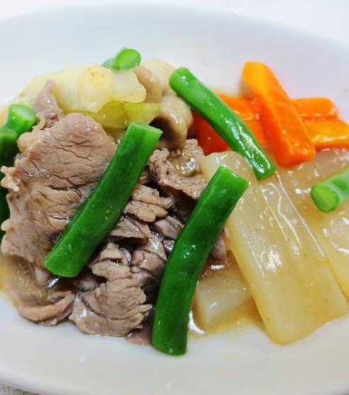 牛肉と野菜の中華スープ煮 B