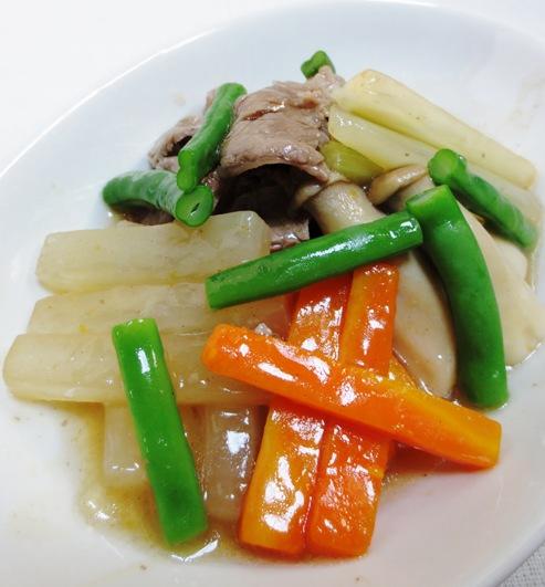 牛肉と野菜の中華スープ煮 拡大