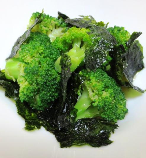 ブロッコリーと韓国海苔のサラダ B