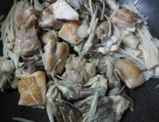 鶏きのこのおろしポン酢 調理④