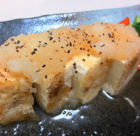 豆腐ステーキ大