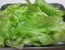 焼売の野菜あんかけ 材料レタス