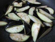 玉ねぎ味噌でナス炒め 調理②