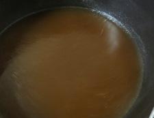 あさりスープの鶏卵ラーメン 調理②