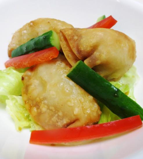 揚げ餃子のサラダ B