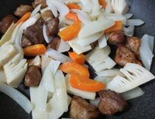 ご飯が進む酢豚 調理④