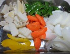 ご飯が進む酢豚 【下準備】②野菜