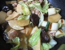 鶏肉と椎茸のとろとろ煮込み 調理⑥