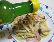 レモン風味の超速クリームパスタ 調理⑧