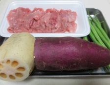 根菜の柚子胡椒炒め 材料