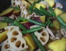 根菜の柚子胡椒炒め 調理⑥
