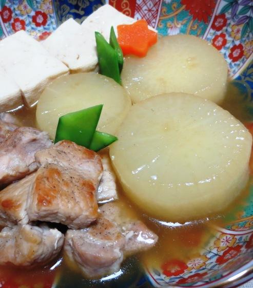 豚大根と豆腐の炊いたん 大
