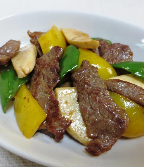 青椒牛肉片(チンジャオニューローペン) B