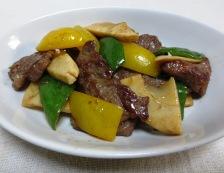 青椒牛肉片(チンジャオニューローペン) 調理⑥