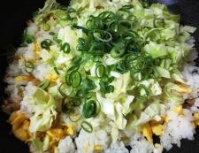 生姜風味のチャーハン 調理⑤