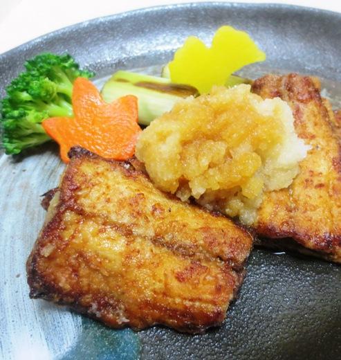 秋刀魚竜田揚げおろしポン酢 B