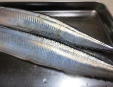 秋刀魚竜田揚げおろしポン酢 材料秋刀魚
