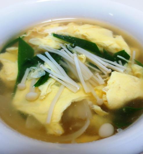 ニラ玉スープ B